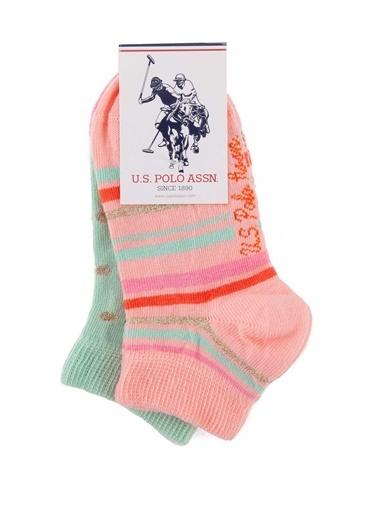 U.S. Polo Assn. Çorap Pembe